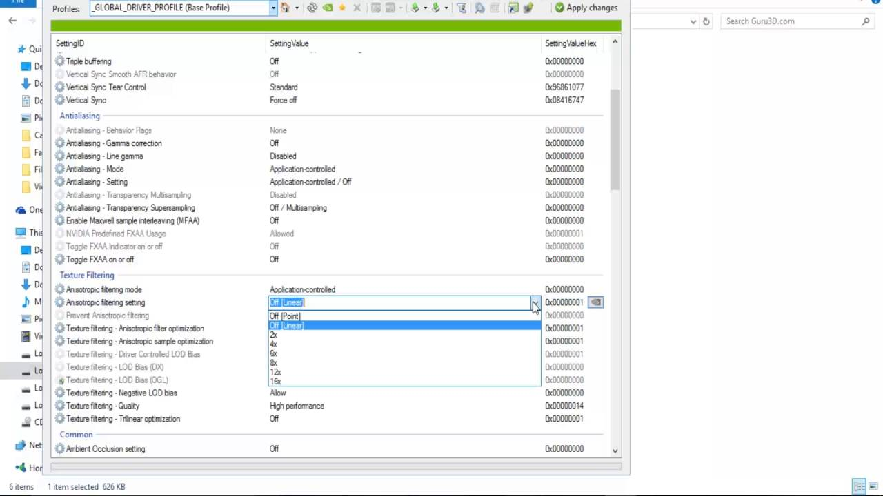 How to run Game Smoothly with NVIDIA inspector