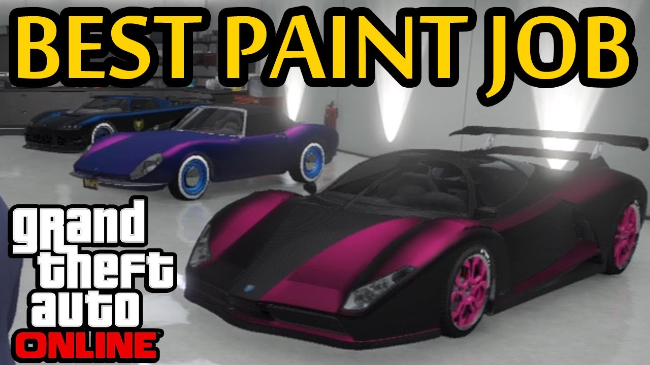 Pearlescent Car Paint >> GTA 5 - Best Paint Job - How To! Pearlescent on Matte ...