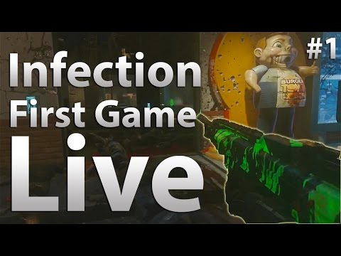 advanced warfare zombies gameplay infection new ca