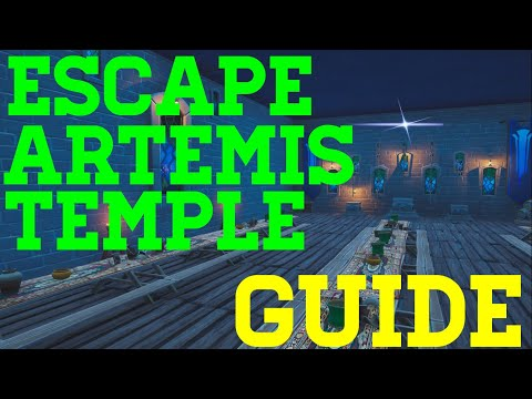 How To Complete Escape From Artemis Temple By Iscariote - Fortnite Creative Guide