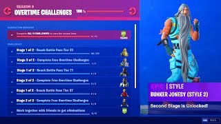 Free OVERTIME CHALLENGES REWARDS FORTNITE SEASON 9 (Fortnite Battle Royale)