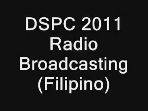 Broadcasting Filipino