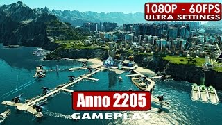 Anno 2205 Gold Edition gameplay PC HD [1080p/60fps]