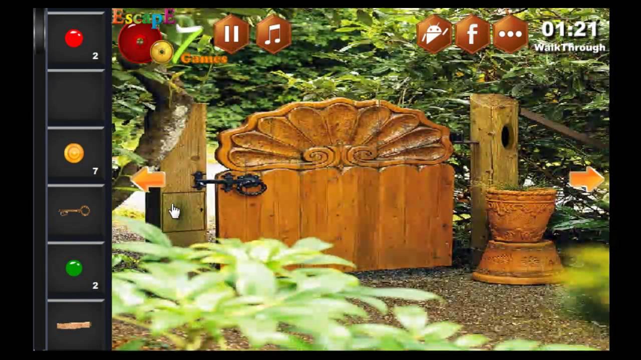 Outdoor Garden Escape Escape 007 Games Walkthrough - YouTube