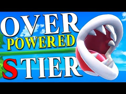 Piranha Plant is Top Tier - Smash Ultimate thumbnail