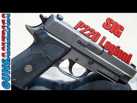 SIG Sauer Legion goes BIG BORE! The P220 Legion in .45 ACP