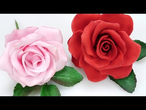 How To Make A Beautiful Sugar Rose