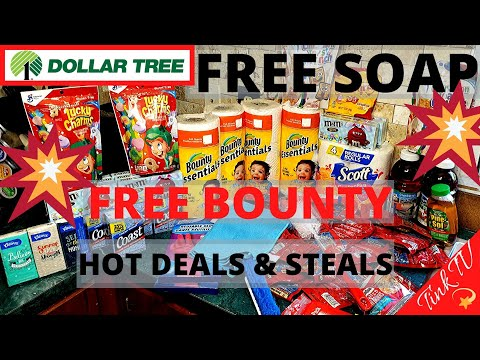 💥 DOLLAR TREE | COUPONING HAUL | GLITCH?🤑 FREE BOUNTY & COAST SOAP WITH COUPONS | ESSENTIALS HAUL💥