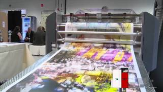 Digital printing - Production of Wallpaper rolls with Xeikon