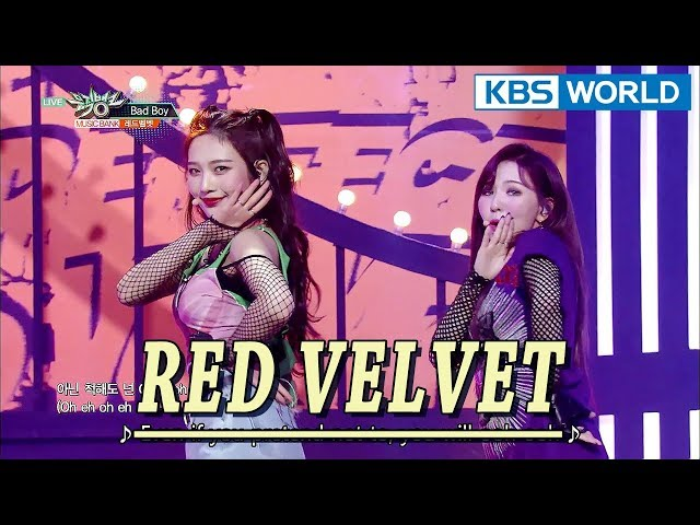 Red Velvet (레드벨벳) - Bad Boy [Music Bank COMEBACK / 2018.02.02]