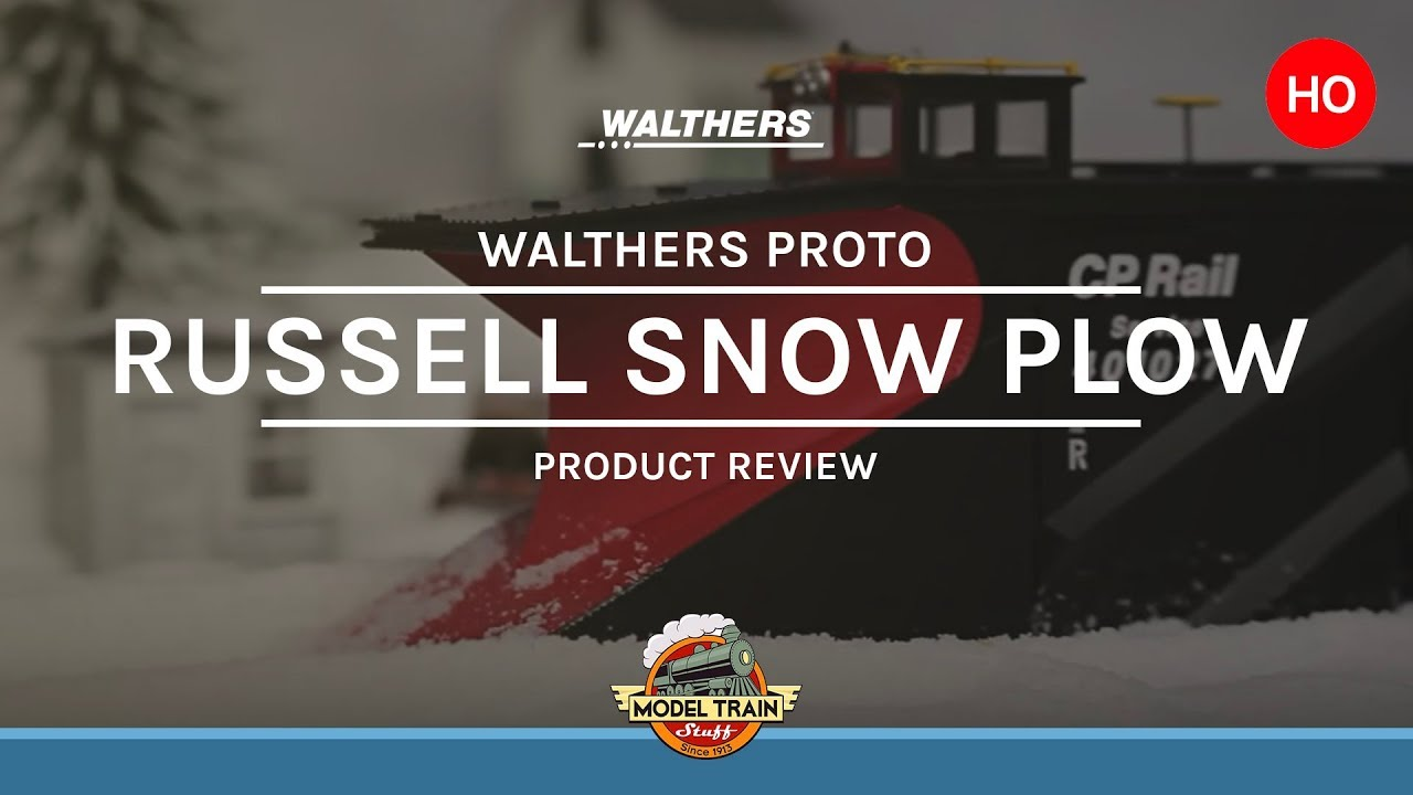 Ho Scale Walthers Russell Snow Plow Youtube
