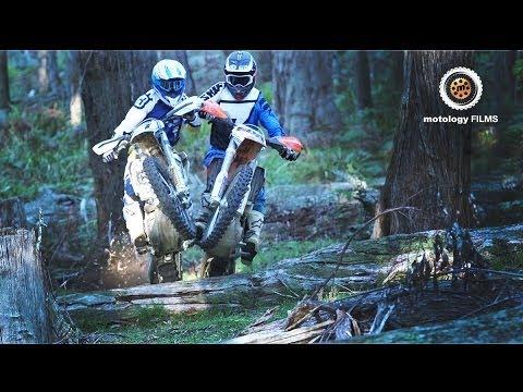 earthmovers - ktm vs husqvarna - youtube