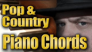 Piano Chords for Soft Rock & Pop Country
