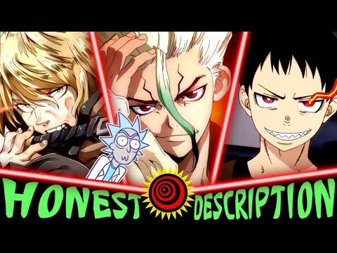 Every Anime Summer 2019 - Honest Descriptions