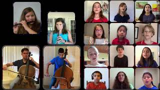 America the Beautiful - Virtual Orchestra and Choir Collaboration