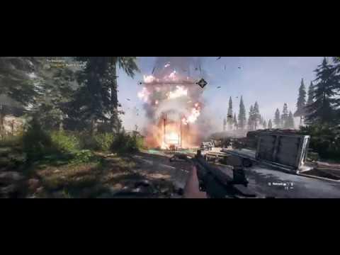 Far Cry 5 21:9 Ultrawide Test (Ultra, Minimal HUD) - YouTube