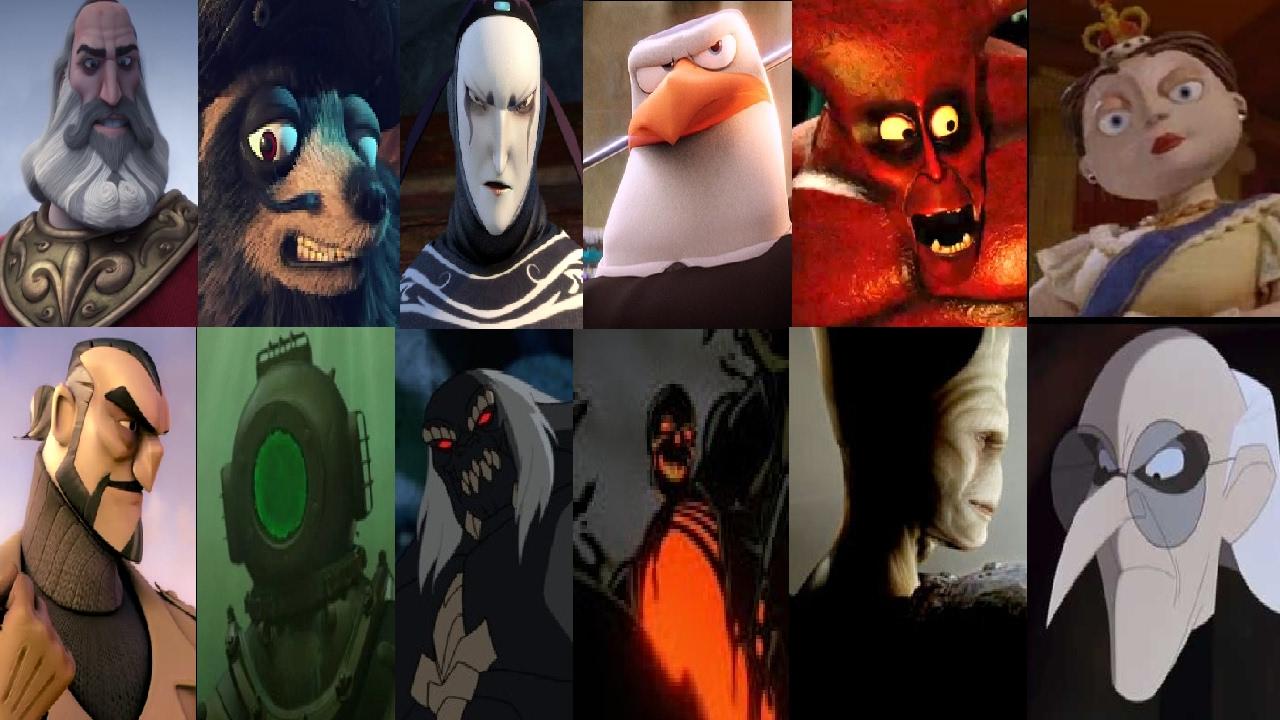 Defeats Of My Favorite Animated Non Disney Villains Par 11