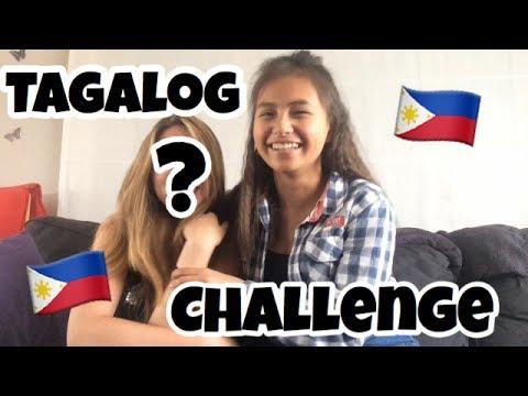 Tagalog Challenge🇵🇭🇵🇭