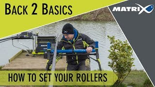 *** Coarse & Match Fishing TV *** How to correctly set up your pole rollers
