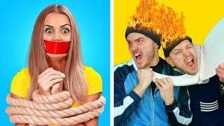 HOME ALONE PRANKS CHALLENGE || Funny Self-Defense DIY Traps And Home Alone Tricks ✨ BLIMEY