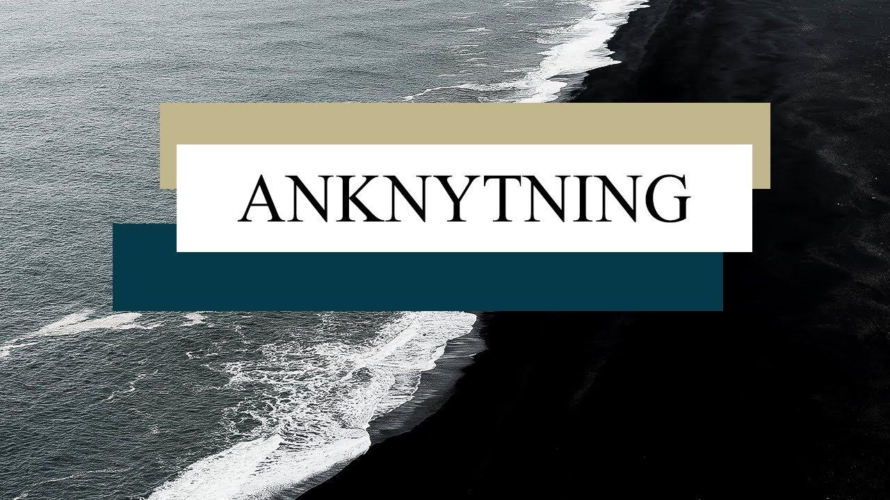 Anknytning
