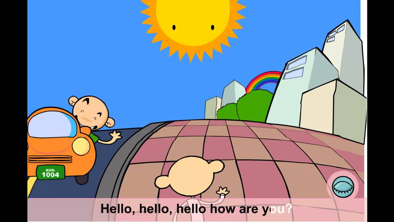 Teach your child english greetings hello song youtube kristyandbryce Gallery