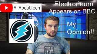 Electroneum appears on the BBC Show - My Response