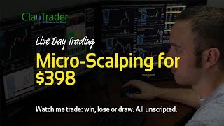Live Day Trading - Micro-Scalping for $398