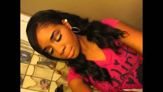Holographic Gold glitter pink and purple valentines tutorial ft ebay eyeshadow palette Thumbnail