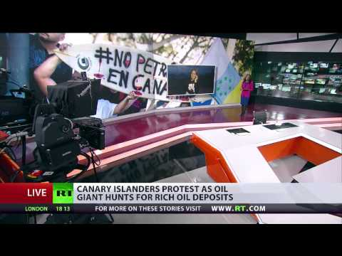 Marta Golding Interview with RT International on Drilling Protests