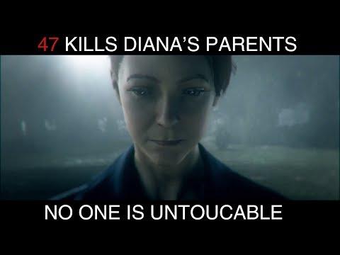 47 Kills Diana's Parents (Hitman 2018)