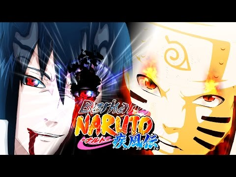 naruto kurama mode vs sasuke eternal mangekyou sharingan