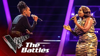 Blessing Chitapa VS Beryl McCormack - 'Flying Without Wings' | The Battles | The Voice UK 2020
