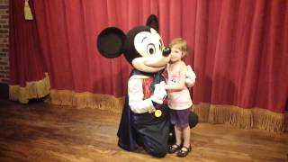 Mickey mouse sings Happy Birthday to Abby