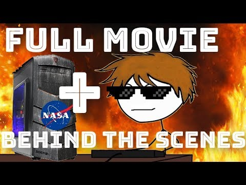 When a gamer gets NASA supercomputer FULL MOVIE + BEHIND THE SCENES