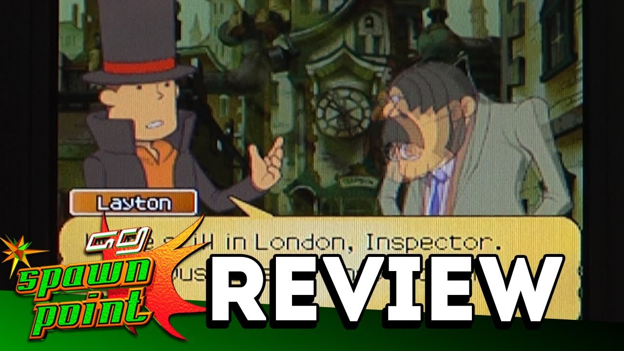 Professor Layton And The Lost Future Game Review Youtube