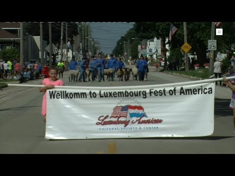 2017  Annual Fest of Luxembourgish Native in Wisconsin USA