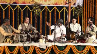 Pandit Somnath Mardur sings Indian classical in Varanasi on January 25, 2010