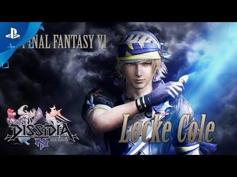 Dissidia FInal Fantasy NT - Locke Character Trailer | PS4