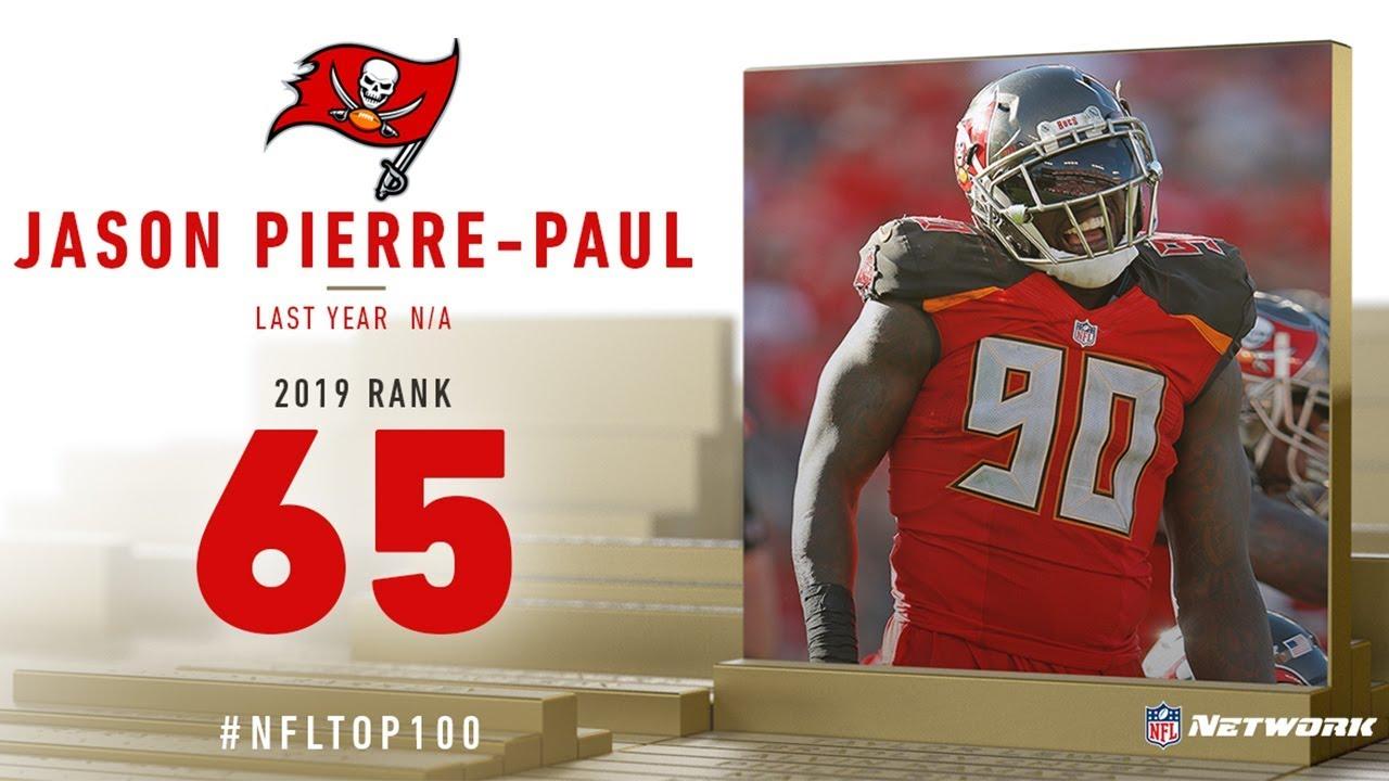 wholesale dealer 3aa87 33860 #65: Jason Pierre-Paul (DE, Buccaneers)   Top 100 Players of 2019   NFL