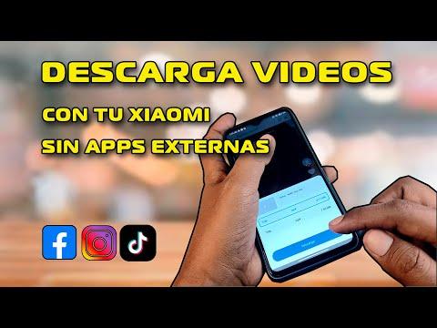 Xiaomi Descarga Videos SIN Apps Externas -  de REDES SOCIALES