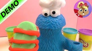 Kurabiye Canavarı Play Doh Oyun Hamuru Yiyor! Play Doh Ile Dondurma Yapımı! Komik Türkçe Oyuncak!