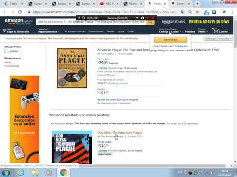 Extract Amazon Mexico Sales Rank For Paperback/Hardcover Books !!!