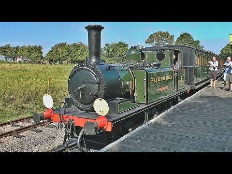 A ride on the Isle of Wight Steam Railway