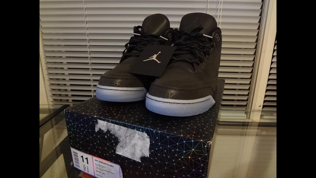0d950fedb0e597 Unboxing Jordan 5lab3  Black  - YouTube