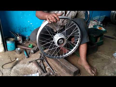 Two wheeler spoke