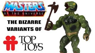 The Rare and Bizarre Masters of the Universe Figures of Top Toys! | Toysplosion