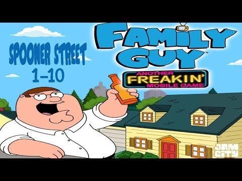 Family Guy - Another Freakin' Mobile Game: Spooner Street Levels 1-10