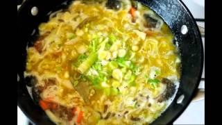 Суп с курицей и чечевицей, приготовление
