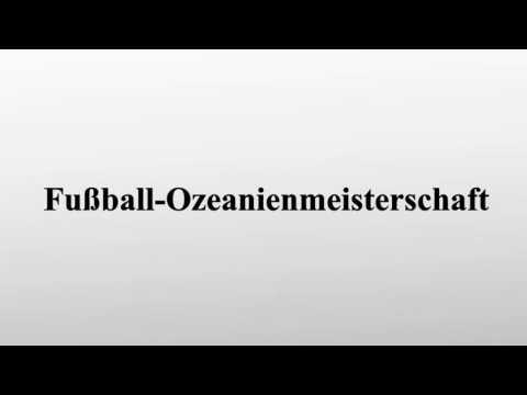 Fußball-Ozeanienmeisterschaft